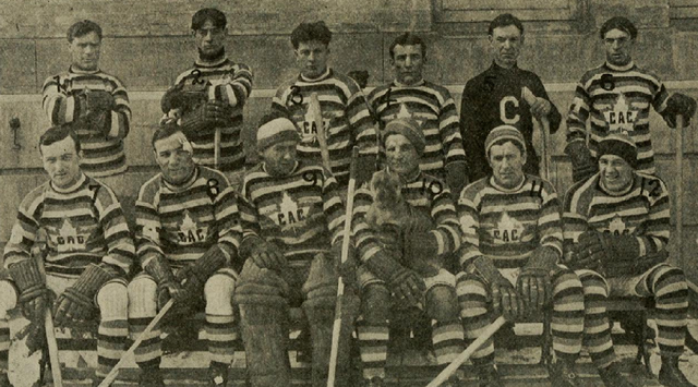 Montreal Canadiens / Club Athletique Canadien Team Photo 1912