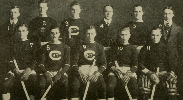 Cornell University Hockey Team 1915