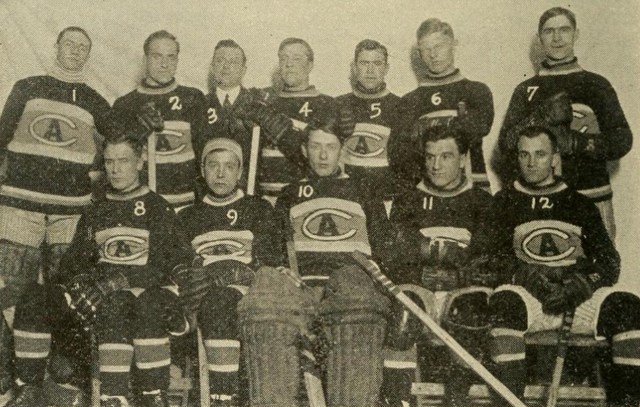 Montreal Canadiens Team Photo 1915