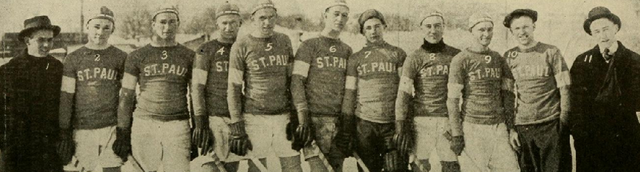 St. Paul Athletic Club Hockey Team 1915