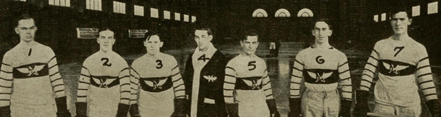 Multnomah Athletic Club Hockey Team 1915