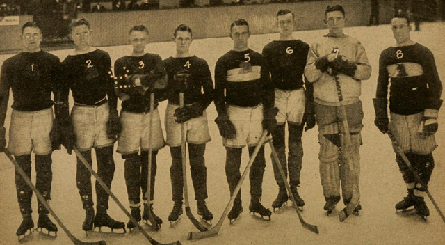 Boston A. A. - American Amateur Hockey League Champions 1916