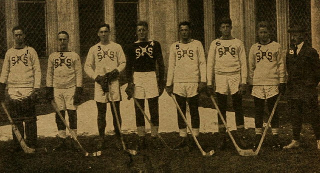 St. Pauls School Hockey Team 1916