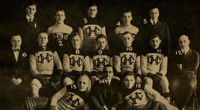 Detroit Hockey Team 1916