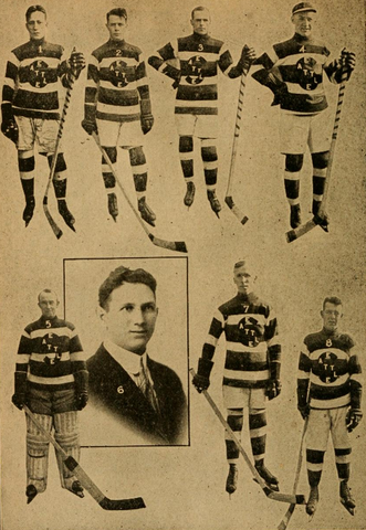Seattle Metropolitans Hockey Team 1916