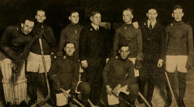 Indoor Yacht Club Hockey Team 1916 - San Francisco