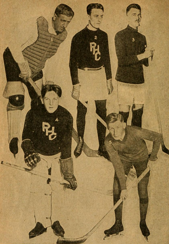 Bay Counties Amateur Hockey Association Players 1916