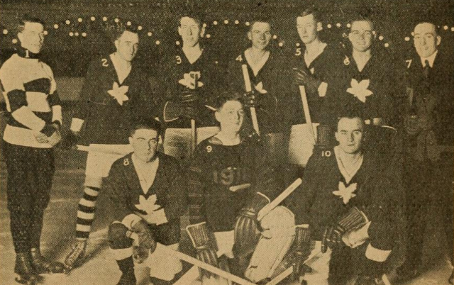 Canadian Club Hockey Team 1917 - San Francisco, California