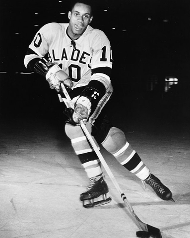 Willie O'Ree / Willie Eldon O'Ree - Los Angeles Blades 1963