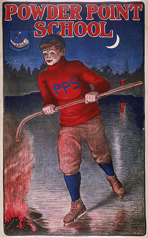 Powder Point School - Hockey Poster 1903