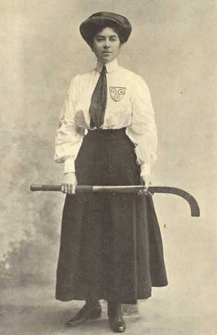Miss E. G. Johnson England Women's National Hockey Team Captain