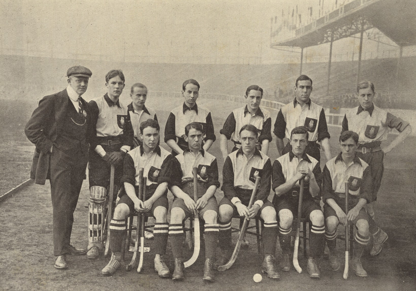 Germany Men's National Field Hockey Team 1908 Summer Olympics
