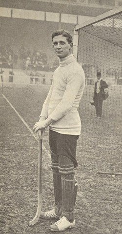 Harvey Wood England Field Hockey Goalkeeper 1908 Summer Olympics