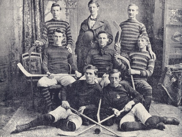 Queen's University Ice Hockey Team 1892