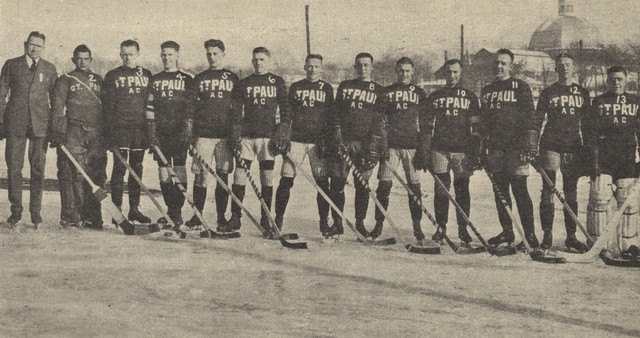 St. Paul A.C . -  U.S.A.H.A. Western Division Champions 1923
