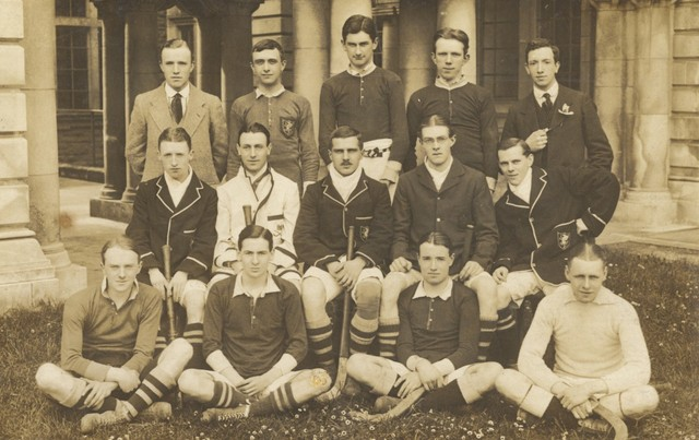 Antique Wales or Scotland Field Hockey - School Photo 1940s
