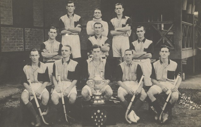 British Battalion Field Hockey Champions  in Maymyo  circa 1930s