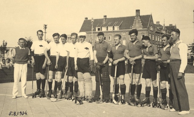 Rink Hockey /  Roller Hockey Teams 1934