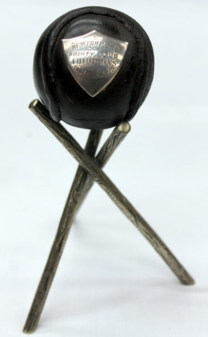Newtonmore Shinty Club Champions Trophy 1907, 1908, 1909, 1910
