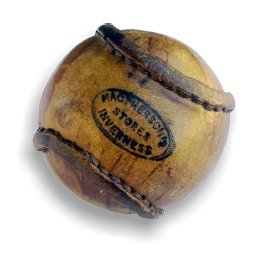 Antique Sliothar - Antique Shinty Ball - William Roberts Ball