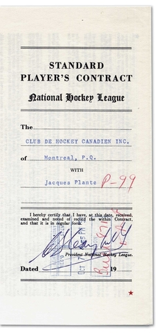 Hockey Contracts 1