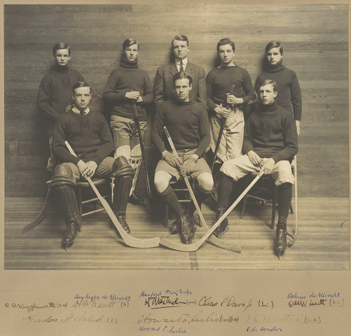 Milton Academy Ice Hockey Team 1907