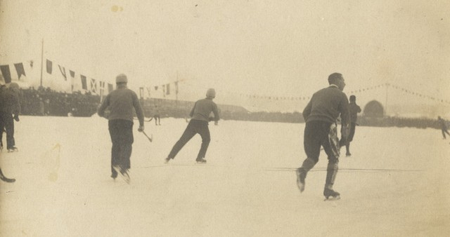 Championship Bandy Match in Finland 1920s