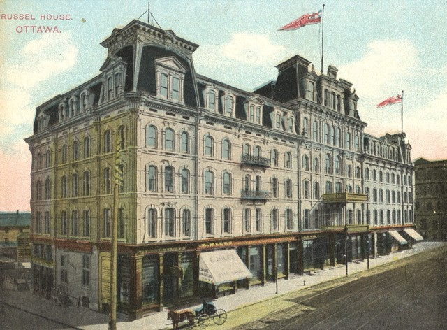Russell House Hotel - Home of the Stanley Cup Announcement 1892