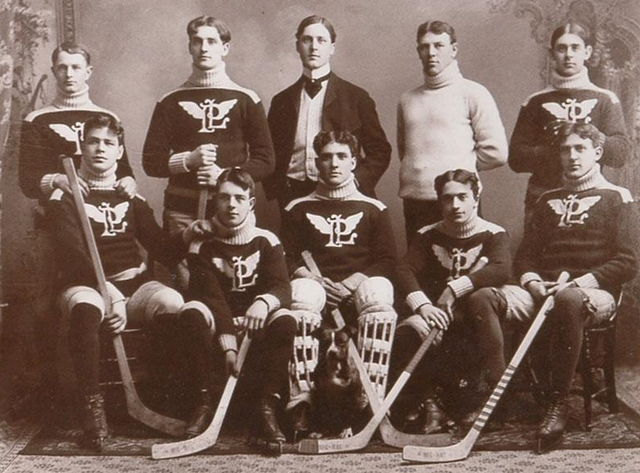 Portage Lake Hockey Team - Champions of the United States 1903