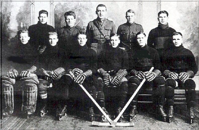 223rd Infantry Battalion Hockey Club 1916