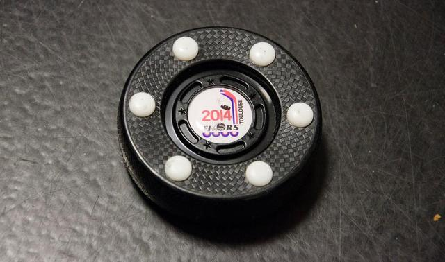 Inline Hockey Puck - FIRS World Inline Hockey Championships 2014