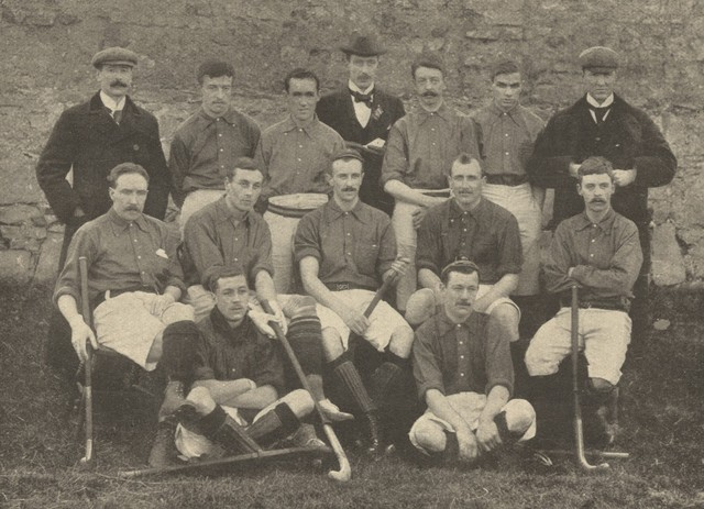 Ireland Men's National Field Hockey Team in Dublin 1897