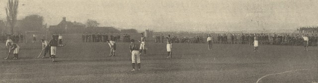 Wales vs Ireland Field Hockey Game in Dublin 1897