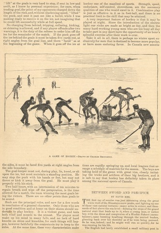 The Game of Rink Hockey by J. Macdonald Oxley 1891 - page 2