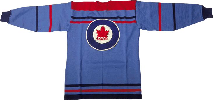 1948 Winter Olympics Team Canada Ice Hockey Jersey - RCAF Flyers ... c8e81392819