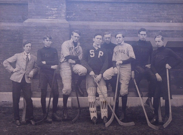 St Paul's School Hockey Team - Garden City, New York - 1903