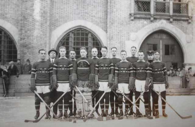 West Point Military - Army Black Knights Men's Ice Hockey 1924