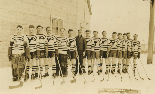 Yorkton Terriers Hockey Team 1936