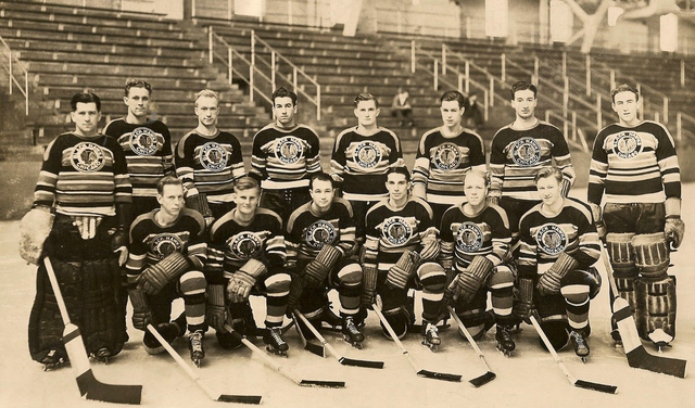 Chicago Black Hawks Training Camp Newcomers Team Photo 1939