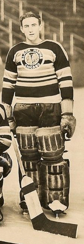 Frank McCool - Chicago Black Hawks Training Camp 1939