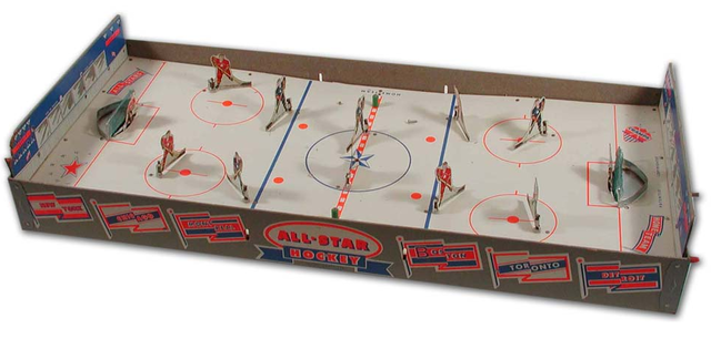 Munro Games - All-Star Hockey Table Hockey Game 1950s