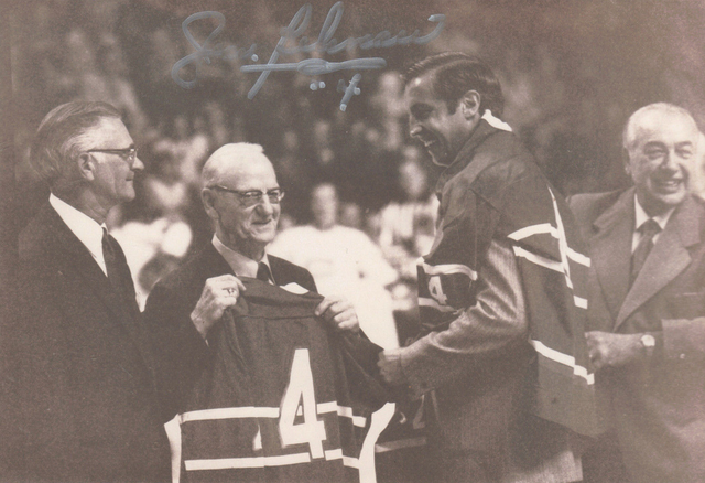 Jean Béliveau Receives His #4 Montreal Canadiens Jersey 1953