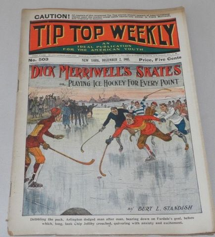 Tip Top Weekly - Pond Hockey 1905