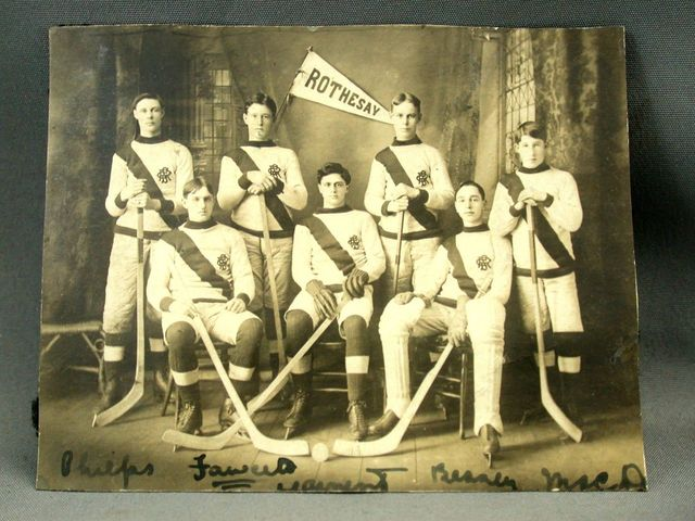 Rothesay Collegiate School Hockey Team 1906