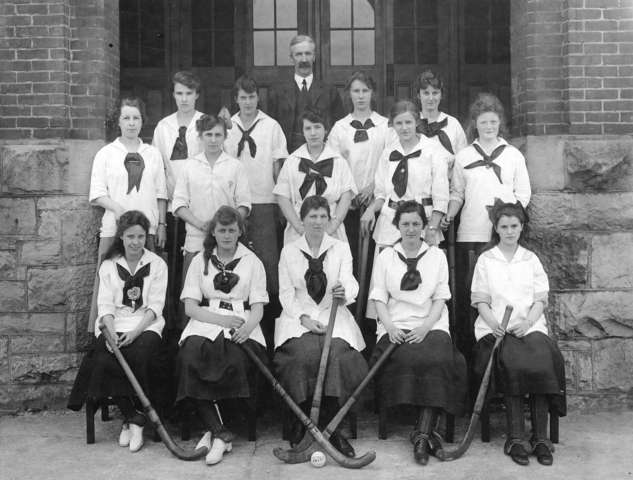 King George High School Girls Field Hockey Team 1916