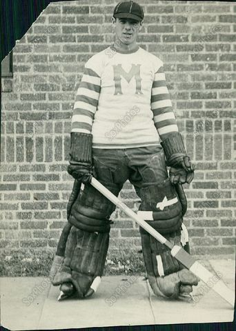Minneapolis Millers Goaltender Tiny Thompson 1926