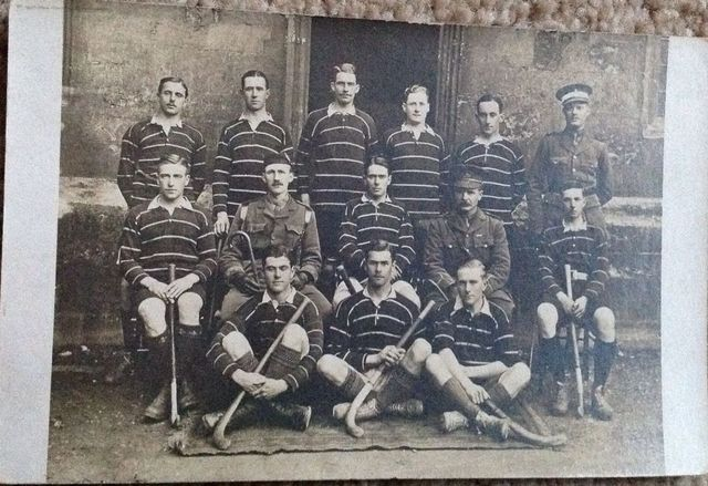 Royal Navy College Field Hockey Team 1918