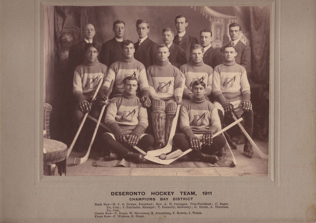Deseronto Hockey Team - Bay District Champions 1911