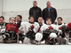 Gatorade Sledge Hockey After Game Players Photo 2014