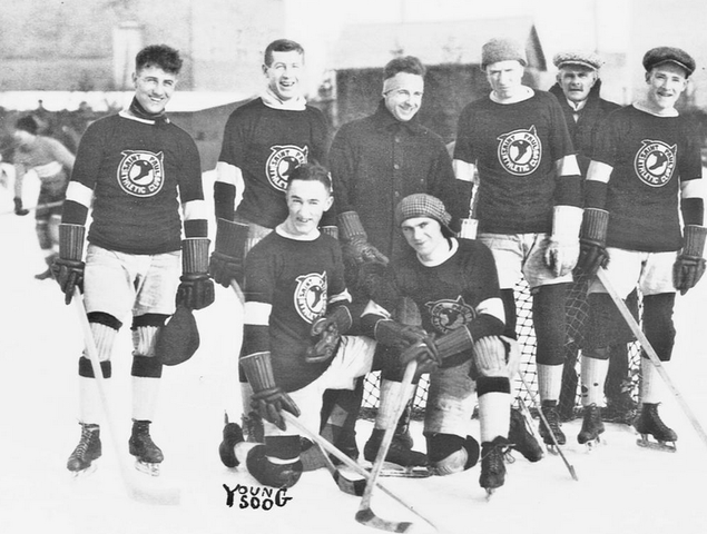 St. Paul Athletic Club Hockey Team - circa 1917